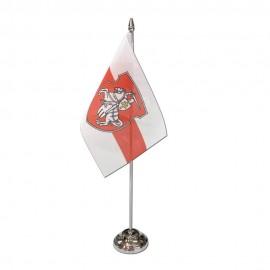 Senoji Baltarusijos stalinė vėliavėlė, 12 x 20 cm, su herbu