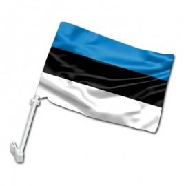 Estijos automobilinė vėliavėlė su koteliu