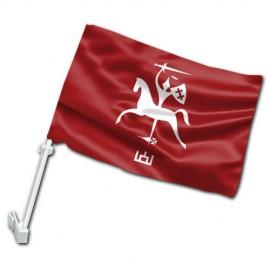Senojo Vyčio automobilinė vėliavėlė su koteliu