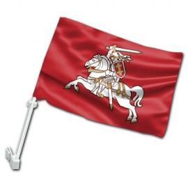 Senojo Vyčio II automobilinė vėliavėlė su koteliu