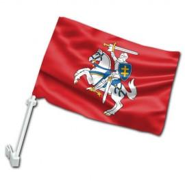 Senojo Vyčio IV automobilinė vėliavėlė su koteliu