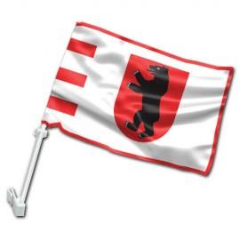 Žemaitijos automobilinė vėliavėlė su koteliu
