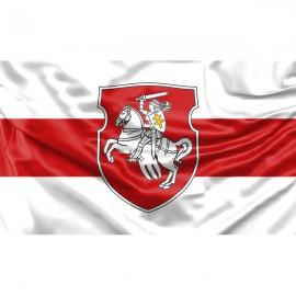 """Senoji Baltarusijos vėliava, su herbu """"Vytė"""""""