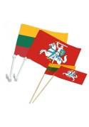Automobilinės ir popierinės vėliavos