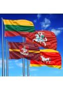 Lietuvos ir miestų vėliavos