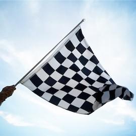 Lenktynių vėliavos