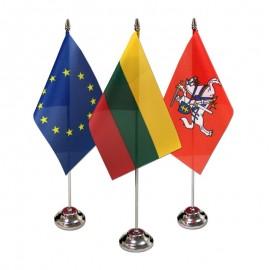 Stalinės vėliavėlės ir jų stovai