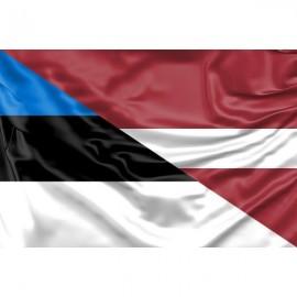Latvijos ir Estijos vėliavos